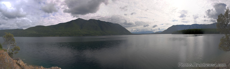 McDonald Lake from Rocky Point