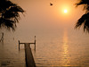 A foggy sunrise on Galveston Bay (San Leon, TX) the day before Thanksgiving (2011)