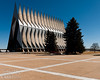 In March we visited the US Air Force Academy.  The unique and striking Chapel is always a good target for photographers.