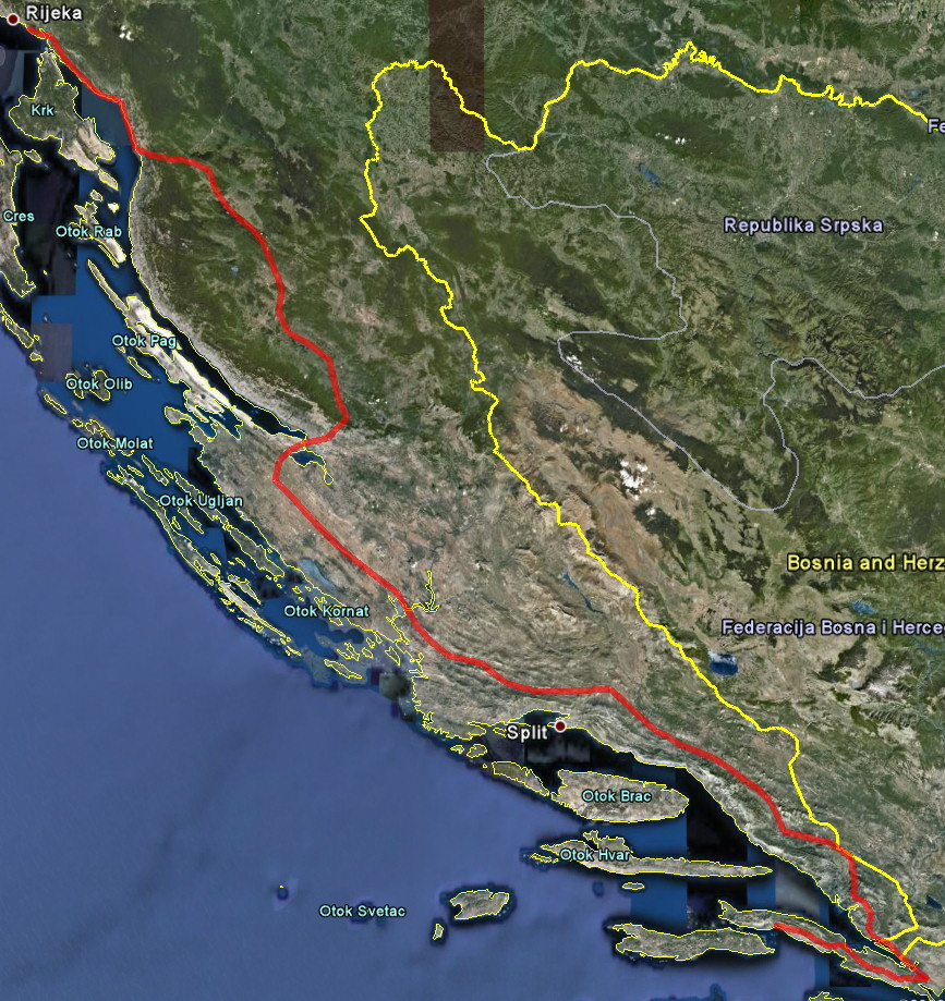 Z Lumbardy smìr Itálie - dnes konèíme u Rijeky