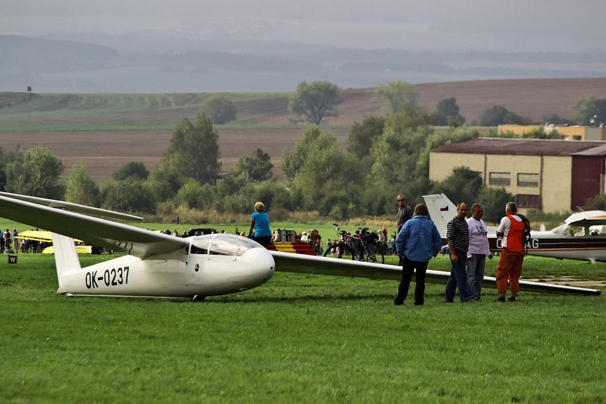Ke startu se chystá Let L-23 Superblaník Hanáckého aeroklubu