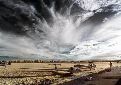 Hanácký aeroklub v infračervené