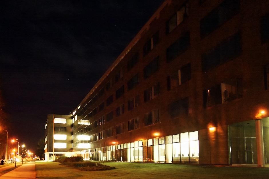 Nová budova Univerzity Palackého v ulici 17. listopadu