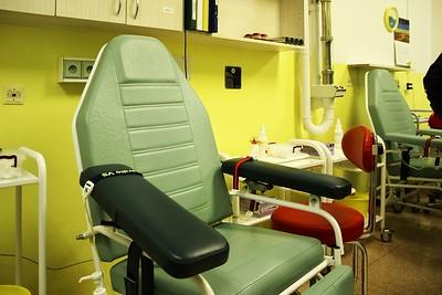 Pracoviště pro základní vyšetření krve dárce