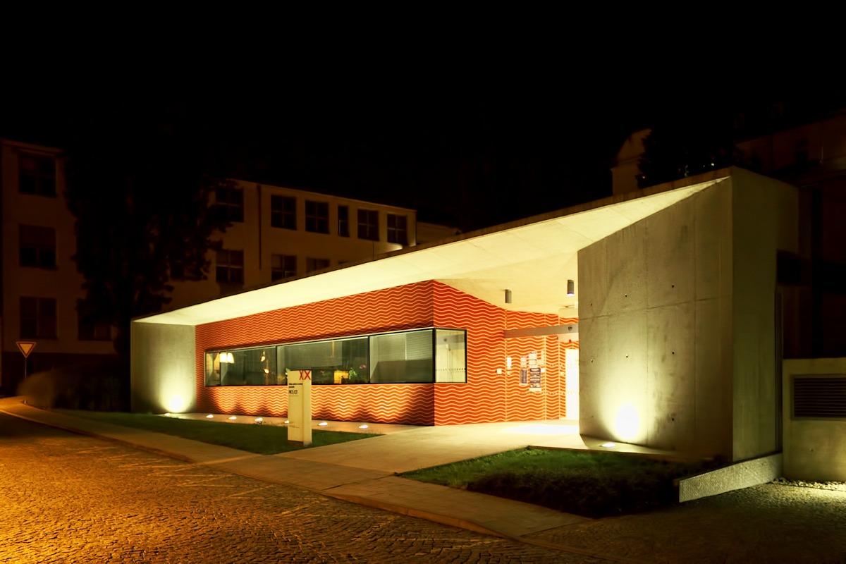 Budova PET v olomoucké fakultní nemocnici