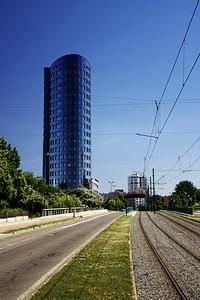 BEA centrum - první z šesti budov akce
