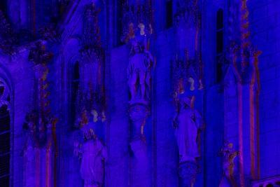 Modré světlo prostě dělá s digitálními foťáky bizarní věci...