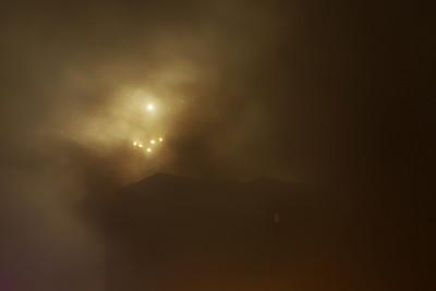 Skoro jako astrofotografický záběr nějaké mlhoviny...