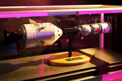 Model lodí mise Sojuz-Apollo