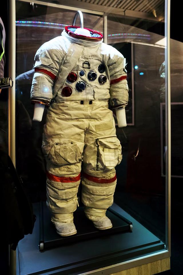 Americký skafandr Apollo A7L pro výstup na měsíční povrch
