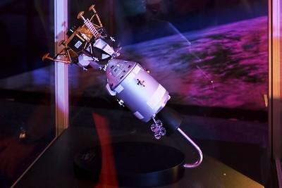 Model lodě Apollo a lunárního modulu
