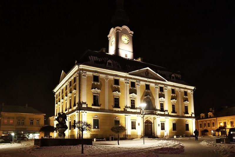 Radnice v Poličce, pro nás ostatně velmi významná :)