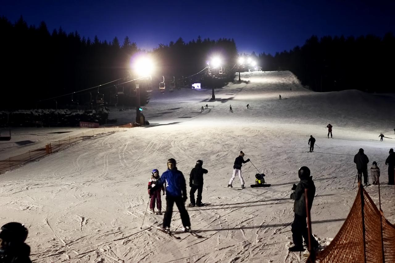 Skiareál Nové Město na Moravě