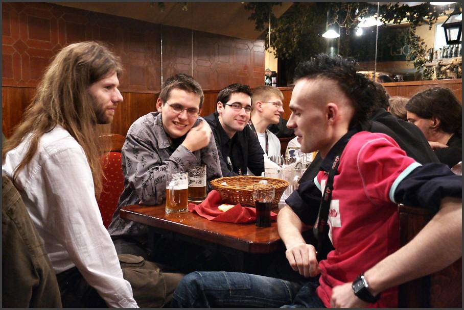 Pavel Studený at the Czilla table