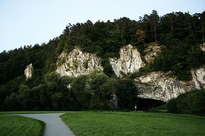 Vstup do Sloupsko-šošůvských jeskyní