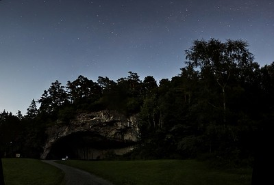 U jeskyně Kůlna