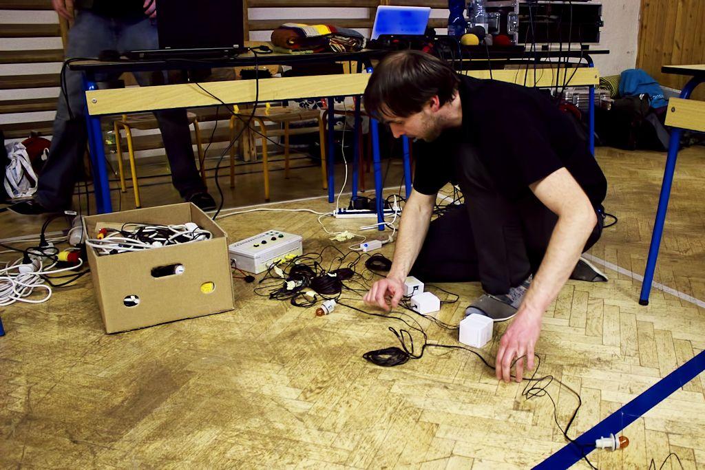 Příprava pozoruhodné techniky na soutěž o Trpaslíkovský pohár