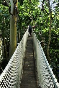 Provazový most v jihoafrickém pavilonu