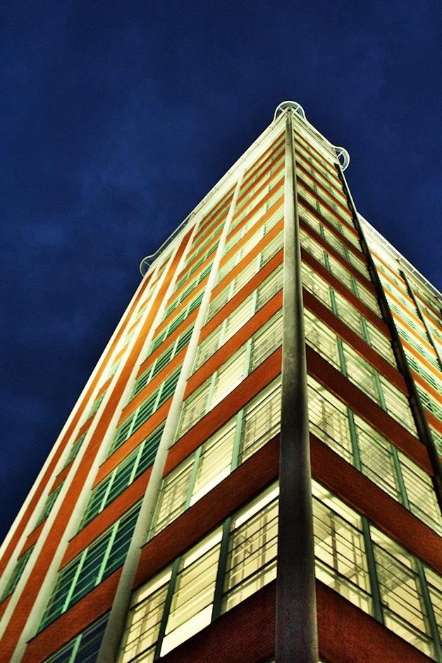 Baťův mrakodrap aneb budova 21, kdysi druhá nejvyšší budova v Evropě