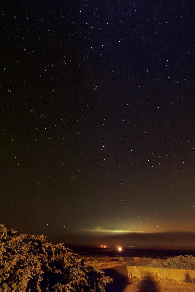 Pokud si správně pamatuji, je tohle záběr z Cabo de Sao Vicente zpátky na jihovýchod směrem k Sagresi
