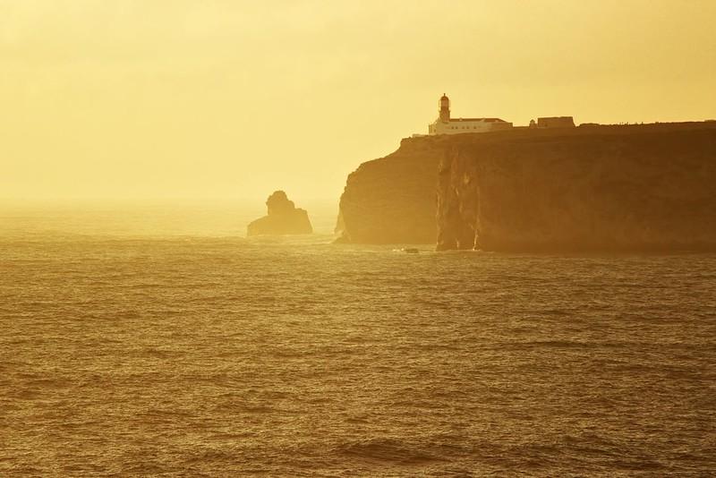 Cabo da Sao Vicente z Ponta de Sagres. Už bychom opravdu měli vyrazit...