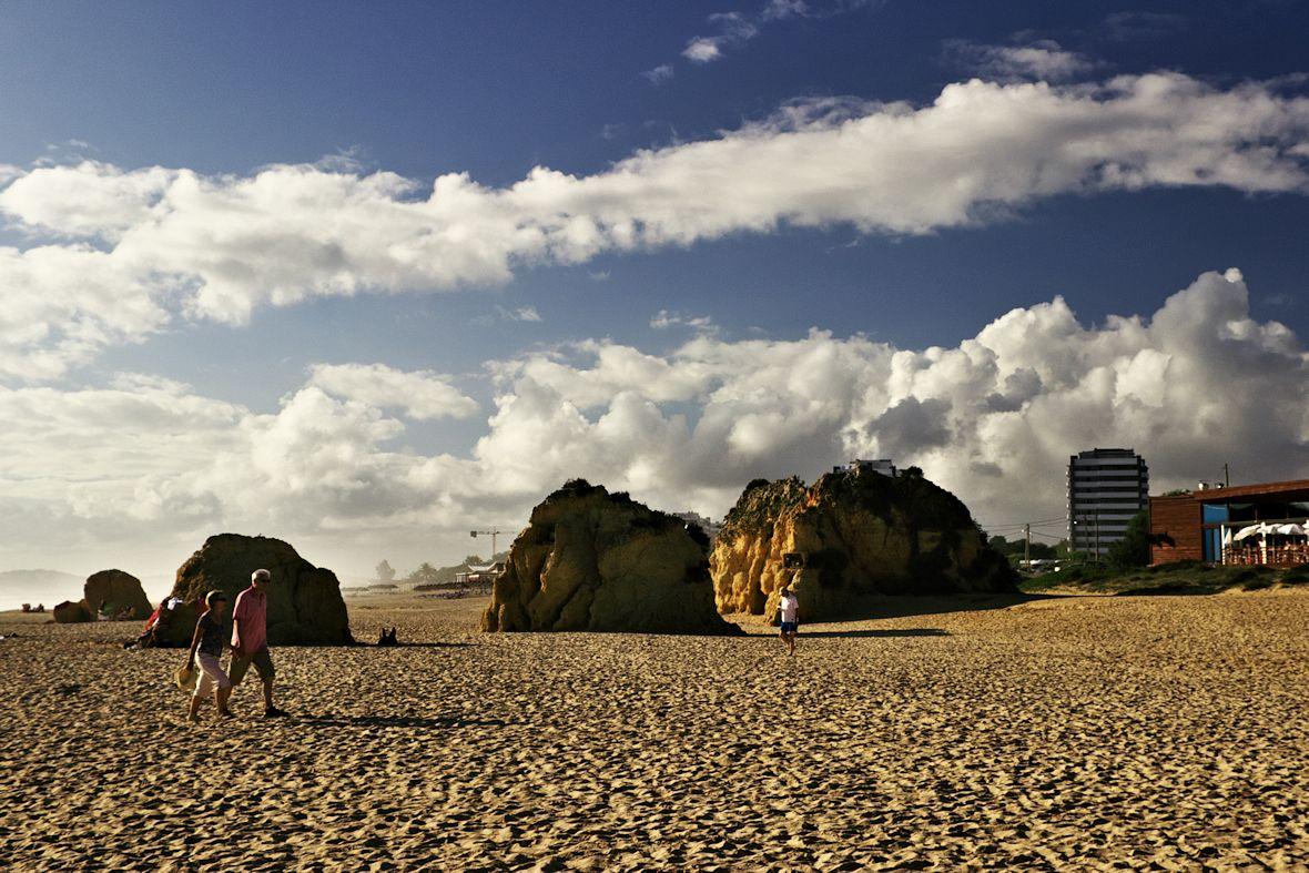 Téměř zpátky na Praia de Alvor