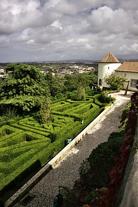Z vyhlídky u Tivoli Palacio de Seteais v Sintře