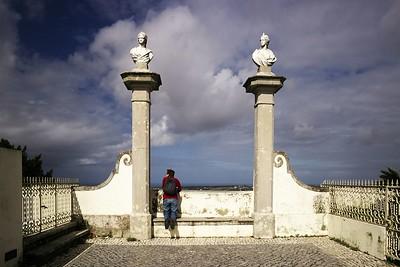 Vyhlídka u Tivoli Palacio de Seteais v Sintře