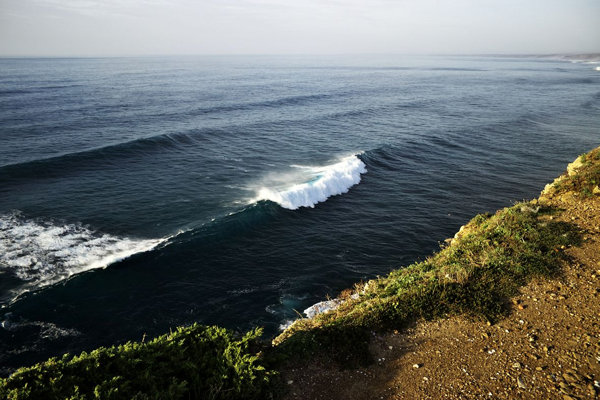 Vlnky...jen asi třímetrové...