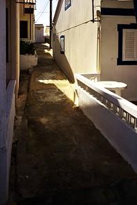 Ulička na Ilha de Faro