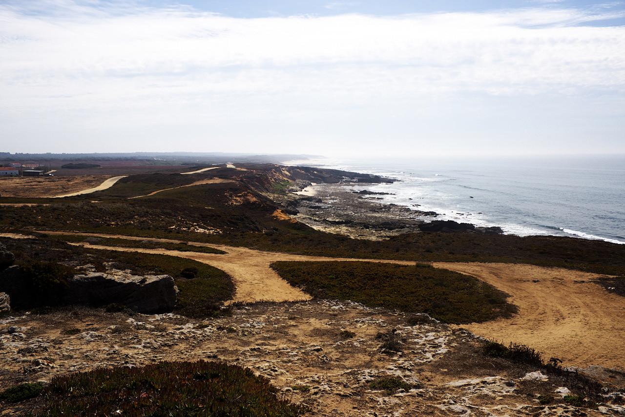 Pohled od pevnosti na jih