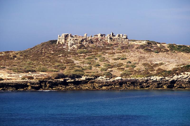 Rozvaliny římské pevnosti