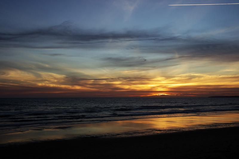 """Poslední letošní západ v Algarve, tradičně opět na """"domovské"""" pláži Galé"""