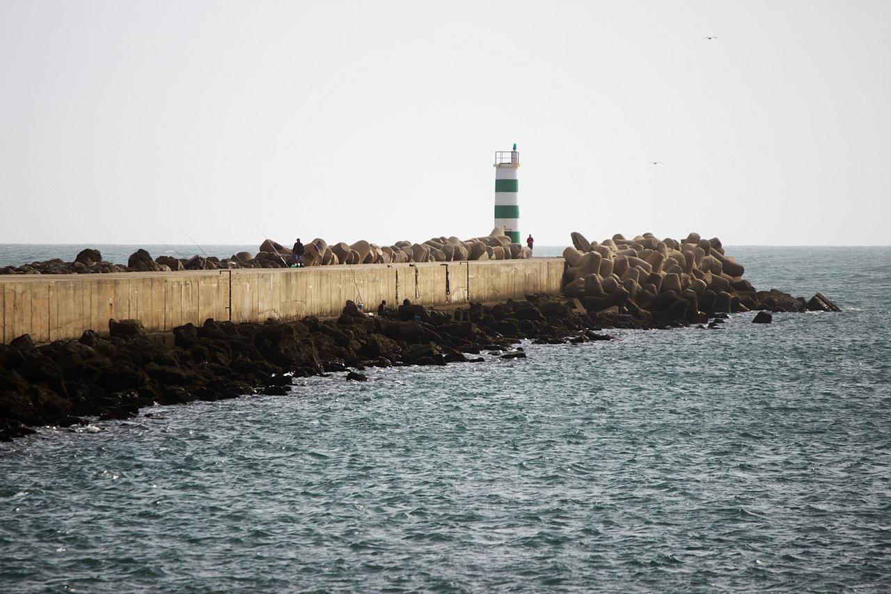 Poutnice dosáhla svého cíle. Kdybych býval věděl, že je z toho místa vidět nejjižnější bod Portugalska, možná by se mi tam bývalo chtělo aspoň o trochu víc. Nešel jsem tam...