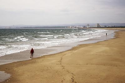 Na pláži byli víceméně jenom sběrači mušlí