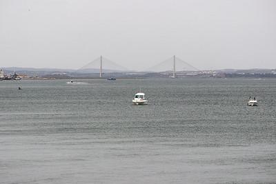 Dálniční most mezi Portugalskem a Španělskem