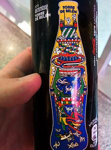 Cola Zero s motivem Torre de Belém