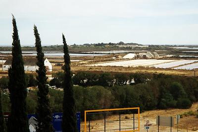 Těžba mořské soli kolem Taviry