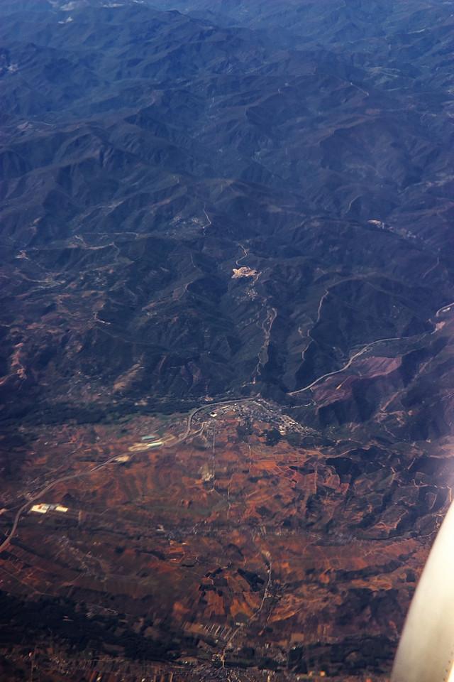 Město mírně dole je Villafranca del Bierzo