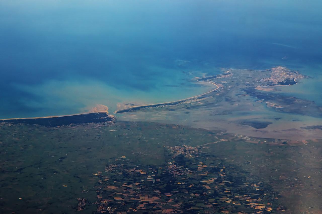 Přílivový ostrov Noirmoutier u ústí Loiry