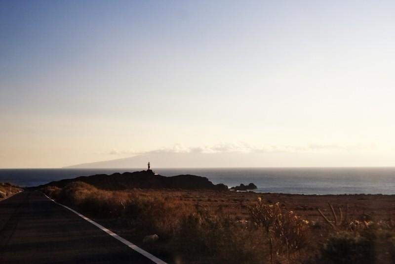 Punta de Teno a maják Faro de Teno - nejzápadnější výběžek ostrova Tenerife