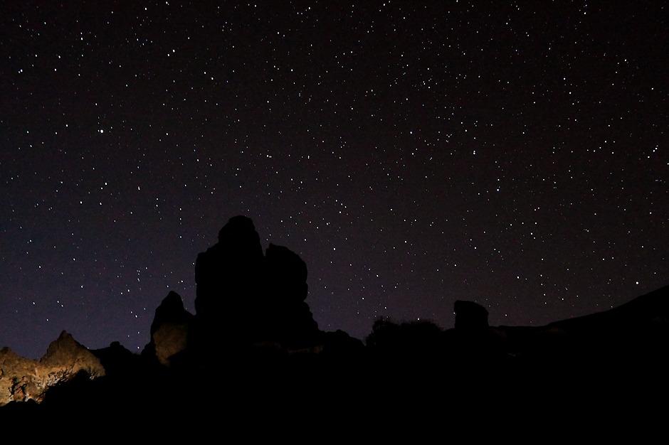 Noční obloha nad Los Roques