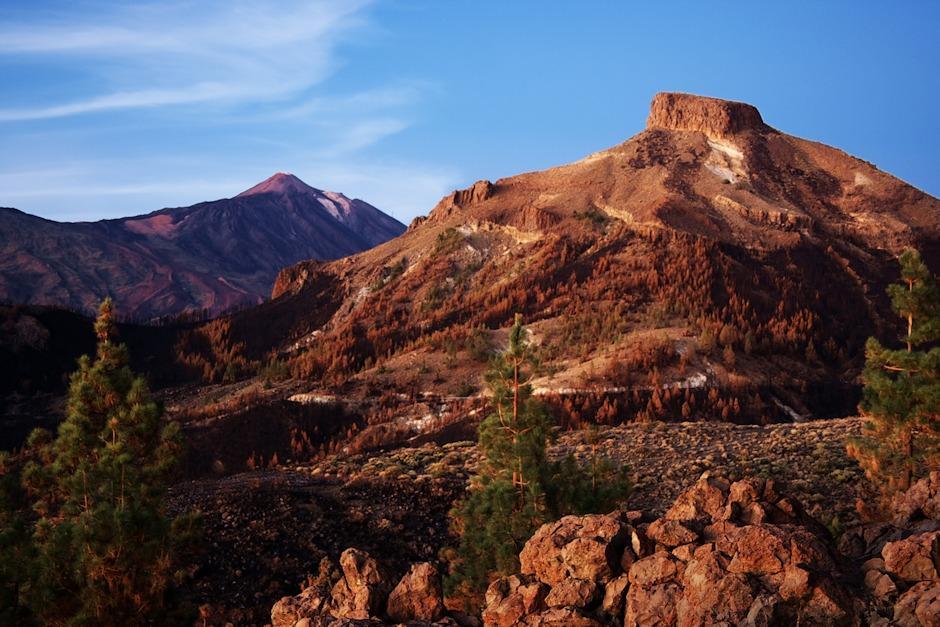El Sombrero a v pozadí Teide