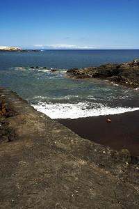 Místo pro spouštění lodí u Sanatorio de Abona se dalo použít i jako docela hezká malá pláž stranou hlavní pláže a lidí