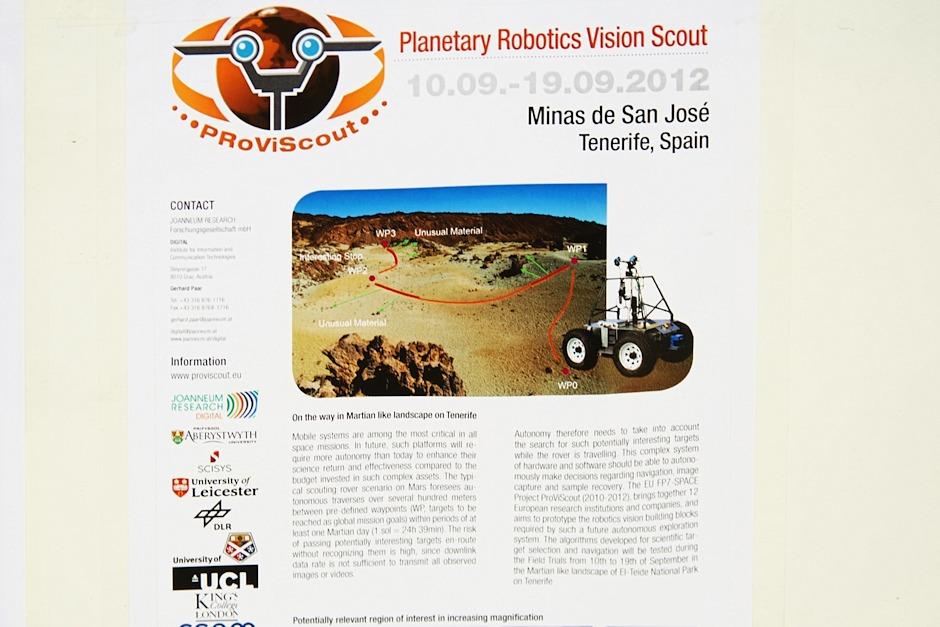 Vzhledem k tomu, že zdejší krajina skutečně připomínala jinou planetu a zejména Mars, nás vlastně ani moc nepřekvapilo, že jsme tu narazili na vědecký tým, který tu testoval robotická vozítka pro budoucí průzkum Marsu.