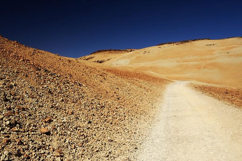 Cesta na Montaňu Blanca