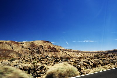 Krajina národního parku Teide