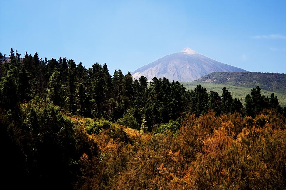 Teide z vyhlídky El Guancho