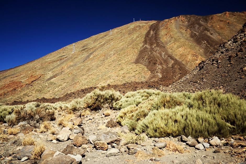 Pico del Teide z úpatí