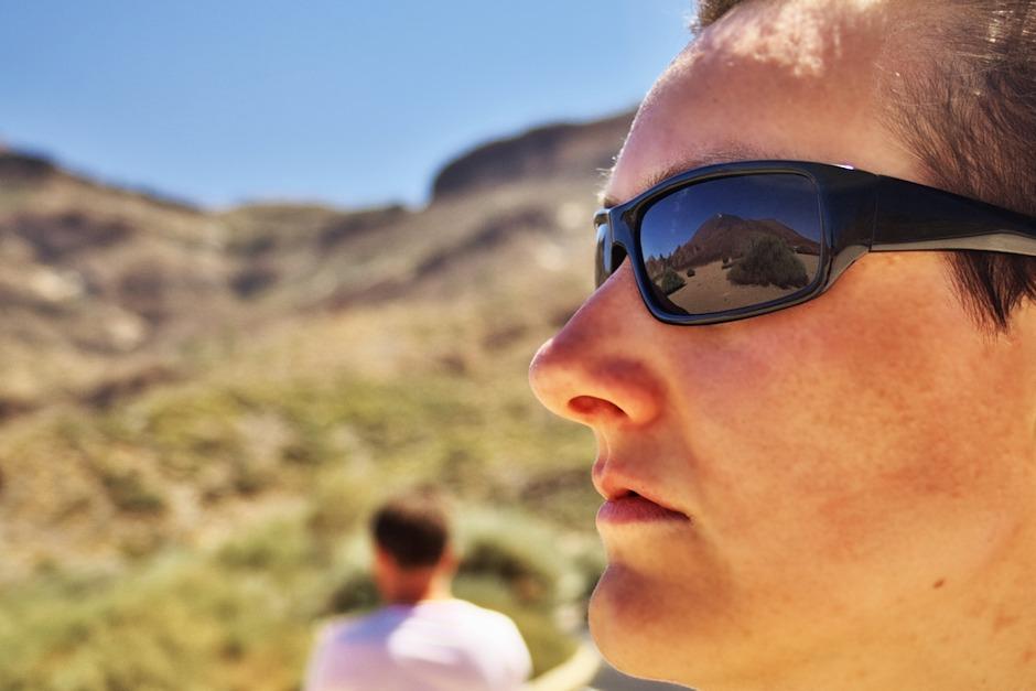 Kamkoliv se dnes podíváme, vidíme vrcholek Teide, na kterém jsme před pár hodinami stáli